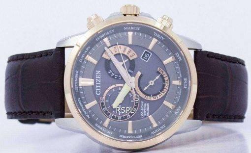 Citizen Eco-Drive Chronograph Perpetual Calendar Alarm BL8148-11H Men's Watch