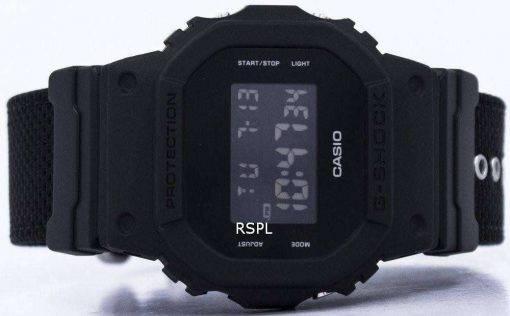 Casio G-Shock Digital Shock Resistant Alarm DW-5600BBN-1 Men's Watch
