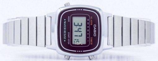 Casio Alarm Digital LA-670WA-4D Women's Watch