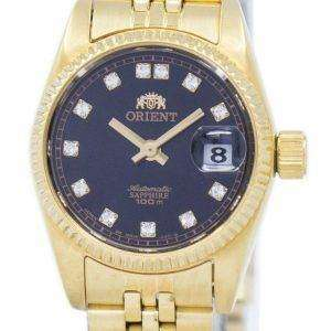 Orient Automatic Japan Made Diamond Accent SNR16001B Women's Watch