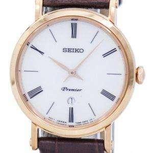 Seiko Premier Quartz SXB436 SXB436P1 SXB436P Women's Watch
