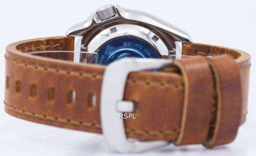 Seiko Automatic Diver's 200M Ratio Brown Leather SKX007K1-LS9 Men's Watch