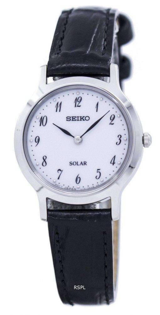 Seiko Solar SUP369 SUP369P1 SUP369P Women's Watch