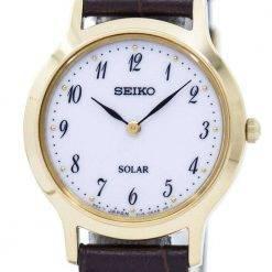 Seiko Solar SUP370 SUP370P1 SUP370P Women's Watch
