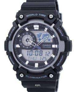 Casio Youth World Time Alarm Analog Digital AEQ-200W-1AV AEQ200W-1AV Men's Watch
