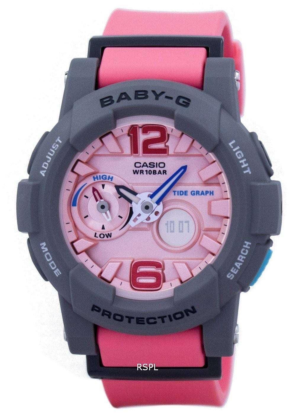 Casio Baby-G Tide Graph Analog Digital BGA-180-4B2 BGA180-4B2 Women s Watch 50c19deb8