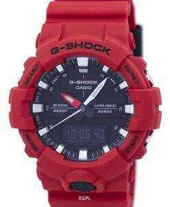 Casio G-Shock Shock Resistant Analog Digital GA-800-4ADR GA800-4ADR Men's Watch