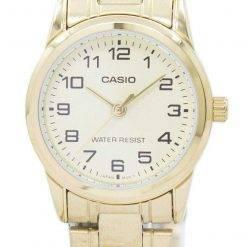 Casio Analog Quartz LTP-V001G-9BUDF LTPV001G-9BUDF Women's Watch