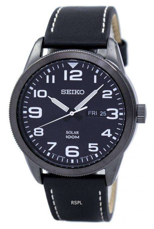 Seiko Solar SNE477 SNE477P1 SNE477P Men's Watch