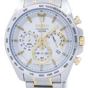 Seiko Chronograph Quartz Tachymeter SSB309 SSB309P1 SSB309P Men's Watch