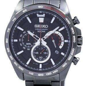 Seiko Chronograph Quartz Tachymeter SSB311 SSB311P1 SSB311P Men's Watch