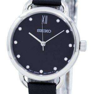 Seiko Analog Quartz Diamond Accent SUR699 SUR699P1 SUR699P Women's Watch