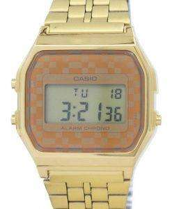 Casio Vintage Chronograph Alarm Digital A159WGEA-9A Men's Watch
