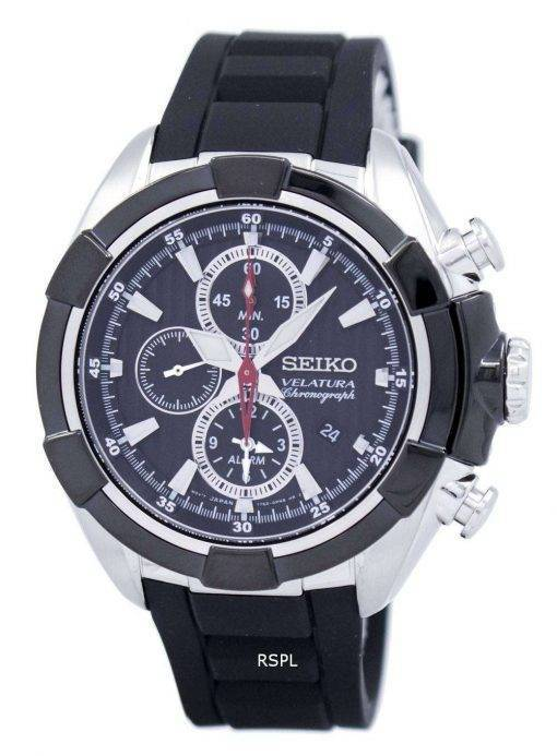 Seiko Velatura Chronograph Alarm Quartz SNAF39P3 Men's Watch
