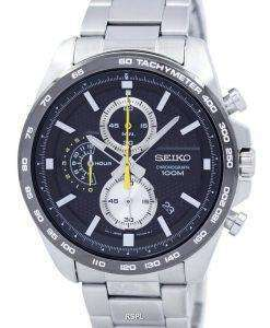 Seiko Chronograph Quartz Tachymeter SSB261 SSB261P1 SSB261P Men's Watch