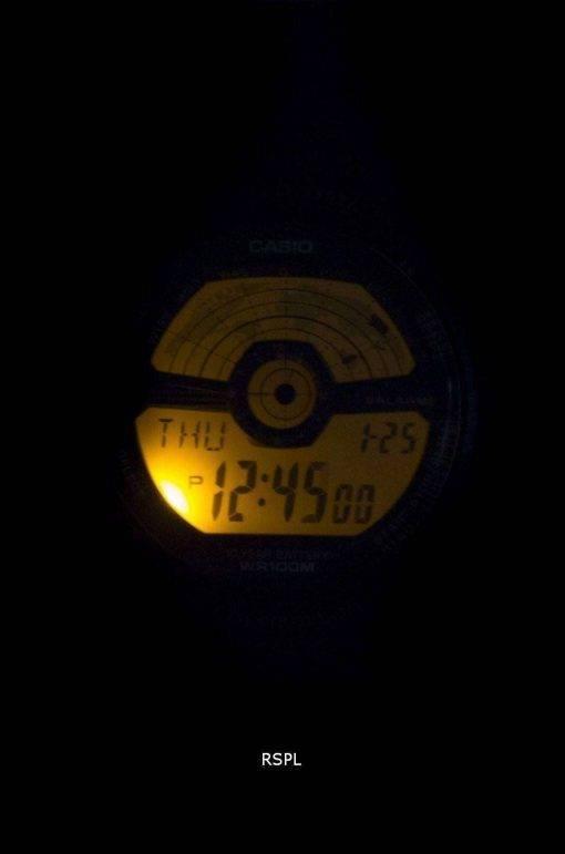 Casio Youth Illuminator World Time World Map AE-1100W-1BV AE1100W-1BV Men's Watch