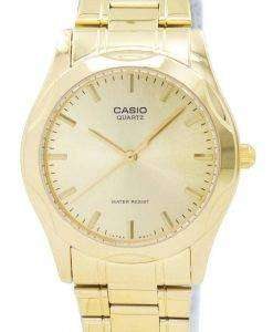 Casio Quartz Analog Gold Plated MTP-1275G-9ADF MTP-1275G-9A Mens Watch