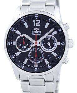 Orient Sports Chronograph Quartz Japan Made RA-KV0001B00C Men's Watch