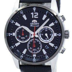 Orient Sports Chronograph Quartz Japan Made RA-KV0005B00C Men's Watch