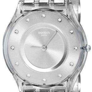 Swatch Skin Classic Silver Drawer Quartz SFK393G Women's Watch