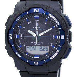 Casio OutGear Twin Sensor World Time Analog Digital SGW-500H-2BV Mens Watch