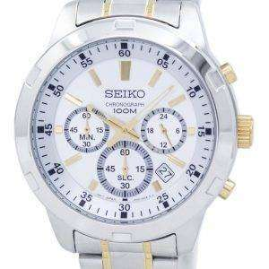 Seiko Chronograph Quartz SKS607 SKS607P1 SKS607P Men's Watch