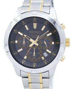 Seiko Chronograph Quartz SKS609 SKS609P1 SKS609P Men's Watch