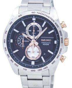 Seiko Sports Chronograph Tachymeter Quartz SSB281 SSB281P1 SSB281P Men's Watch