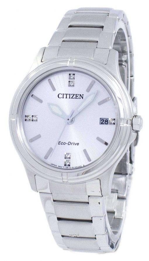 Citizen Eco-Drive Diamond Accent FE6050-55A Women's Watch