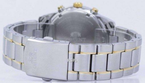 Orient Sports Chronograph Quartz Japan Made RA-KV0003S00C Men's Watch