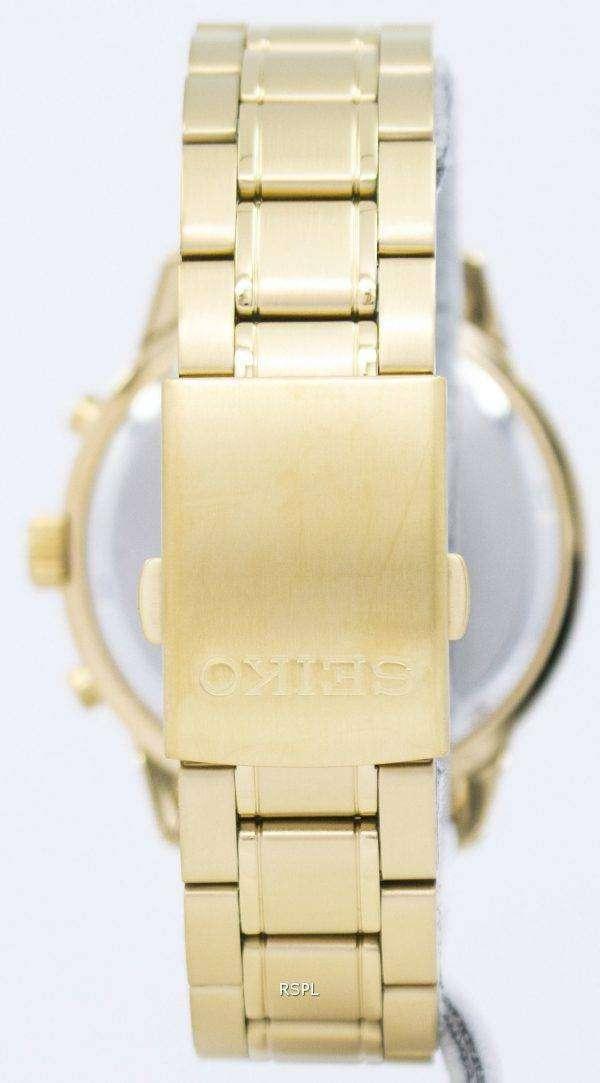Seiko Chronograph Quartz SKS610 SKS610P1 SKS610P Men's Watch