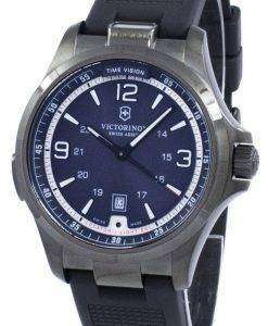 Victorinox Swiss Army Night Vision GMT Quartz 241596 Men's Watch