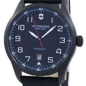 Victorinox Airboss Black Edition Swiss Army Automatic 241720 Men's Watch