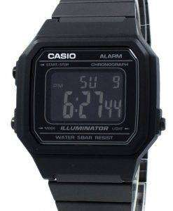 Casio Illuminator Chronograph Alarm Digital B650WB-1B Unisex Watch