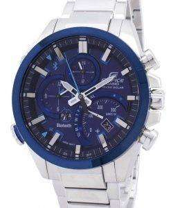 Casio Edifice Tough Solar Smartphone Link Bluetooth EQB-501DB-2A EQB501DB2A Men's Watch