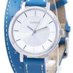 Casio Analog Quartz Double Loop LTP-E143DBL-3A LTPE143DBL-3A Women's Watch