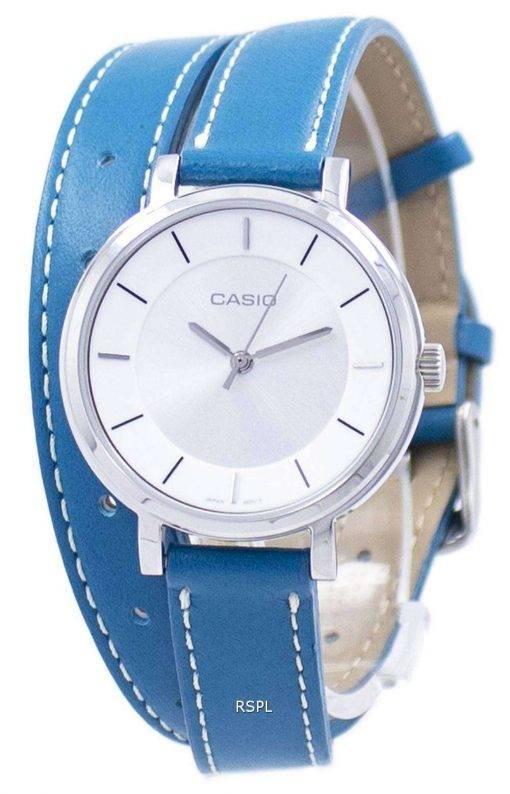 Casio Analog Quartz Double Loop LTP-E143DBL-3A LTPE143DBL-3A Women's Watch