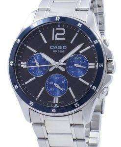 Casio Enticer Analog Quartz MTP-1374D-2AV MTP1374D-2AV Men's Watch