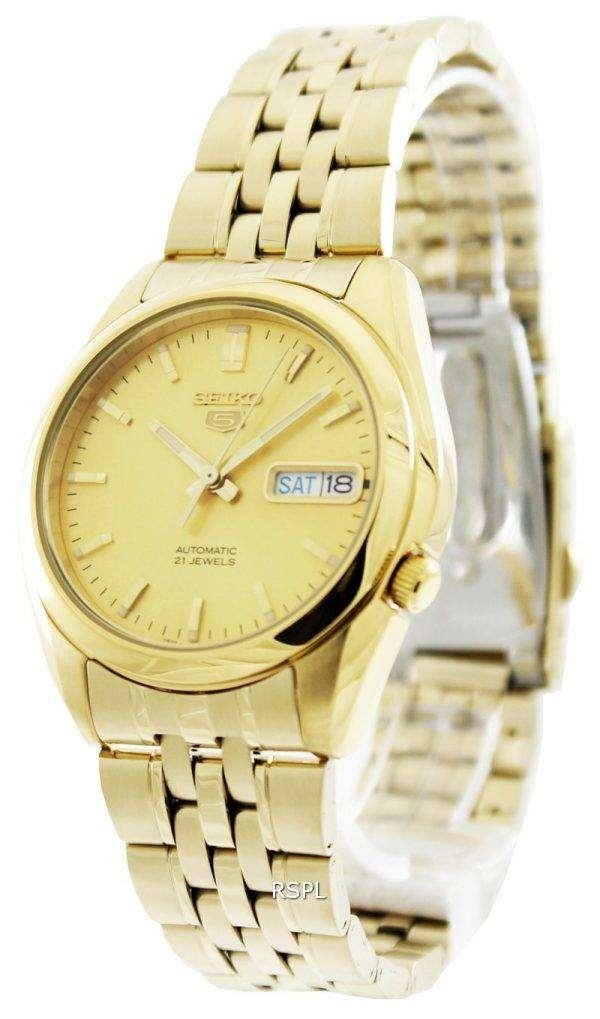 Seiko 5 Automatic 21 Jewels SNK366 SNK366K1 SNK366K Men's Watch