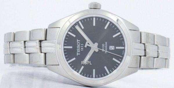 Tissot T-Classic PR 100 Titanium Quartz T101.210.44.061.00 T1012104406100 Women's Watch