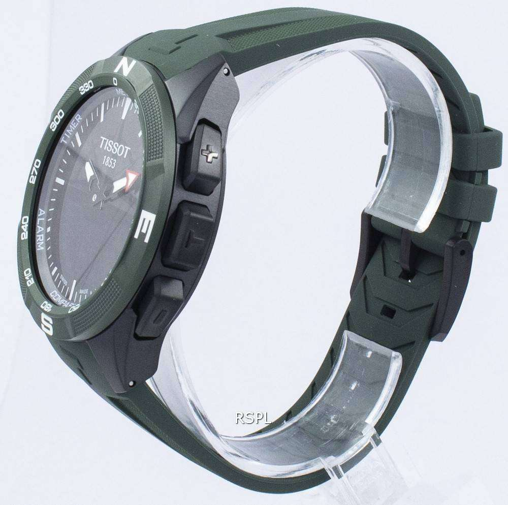 Tissot T Touch Expert Solar Ii Quartz T110 420 47 051 00 T1104204705100 Men S Watch