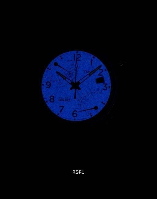 Timex Intelligent Indiglo Fly-Back Chronograph Quartz T2N700 Men's Watch
