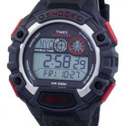 Timex Expedition Global Shock World Time Alarm Indiglo Digital T49973 Men's Watch