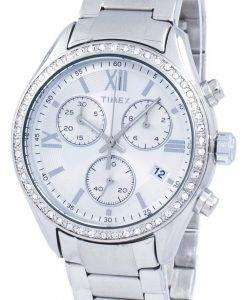 Timex Miami Chronograph Quartz Diamond Accent TW2P66800 Women's Watch