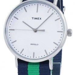 Timex Weekender Fairfield Indiglo Quartz TW2P90800 Unisex Watch