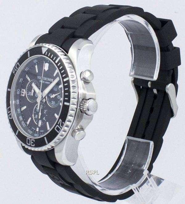 Victorinox Maverick Swiss Army Chronograph Tachymeter Quartz 241696 Men's Watch