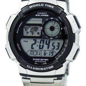 Casio Youth Digital World Time AE-1000WD-1AV Men's Watch