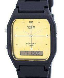 Casio Analog Digital Quartz Dual Time AW-48HE-9AVDF AW-48HE-9AV Mens Watch