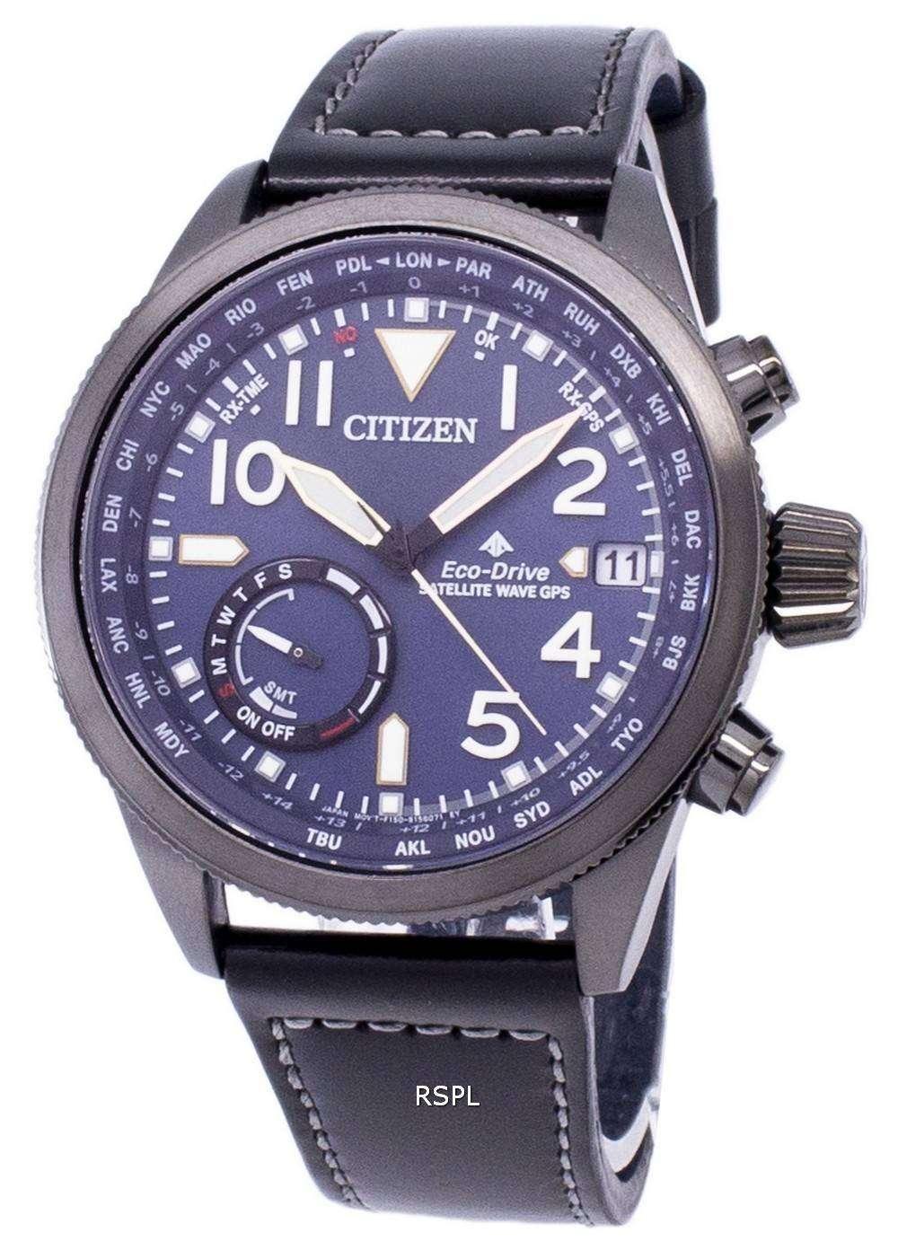 ec17a90efa9 Citizen Promaster Eco-Drive Satellite Wave GPS CC3067-11L Men s Watch