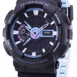 Casio G-Shock Shock Resistant Analog Digital GA-110PC-1A GA110PC-1A Men's Watch